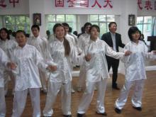 Студенты Казахстанско-китайского колледжа