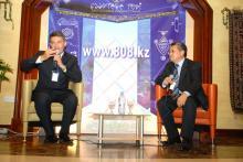 Мамиров Х.С. – основатель «Дисплейинтермедиа», Шайх К.А. – Генеральный Директор Агентства Креативных Решений «SHAIKH»,Бизнес-клуб «Деловые Знакомства Казахстана»