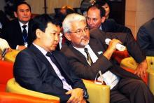 Дворянчикова Е.В. -  3-ий секретарь Генерального Консула Российской Федерации, Ма Лей - 3-ий секретарь Генерального Консульства Китайской Народной Республики в Алматы, Бизнес-клуб «Деловые Знакомства Казахстана»